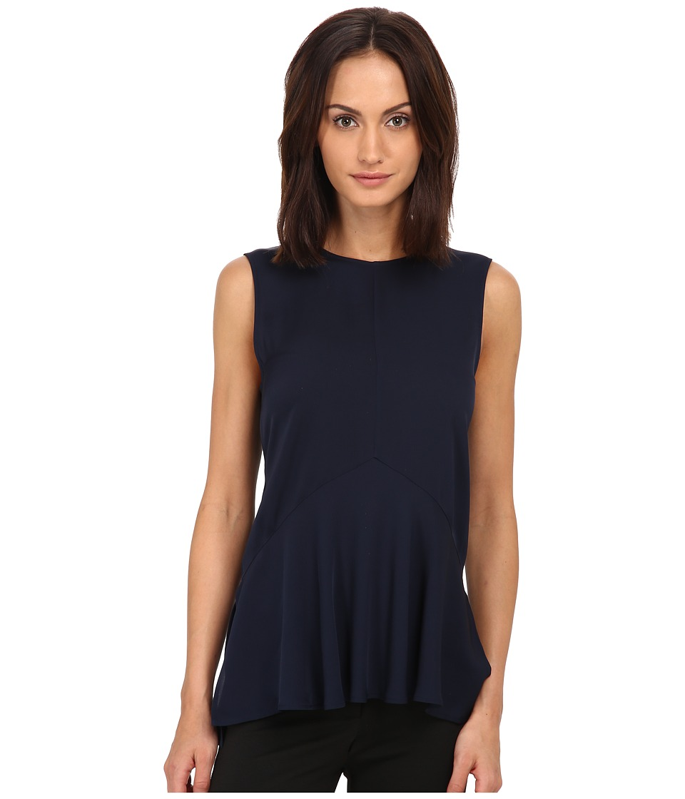 Theory - Laycee Top (Blue Onyx) Women's Clothing