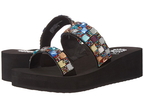 Yellow Box - Cady (Black Multi) Women's Sandals