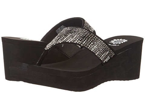 Yellow Box - Cascada (Pewter) Women's Wedge Shoes