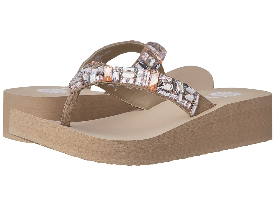 Yellow Box - Calandra (Taupe) Women's Sandals