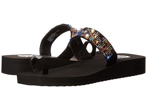 Yellow Box - Ankita (Black Multi) Women's Sandals