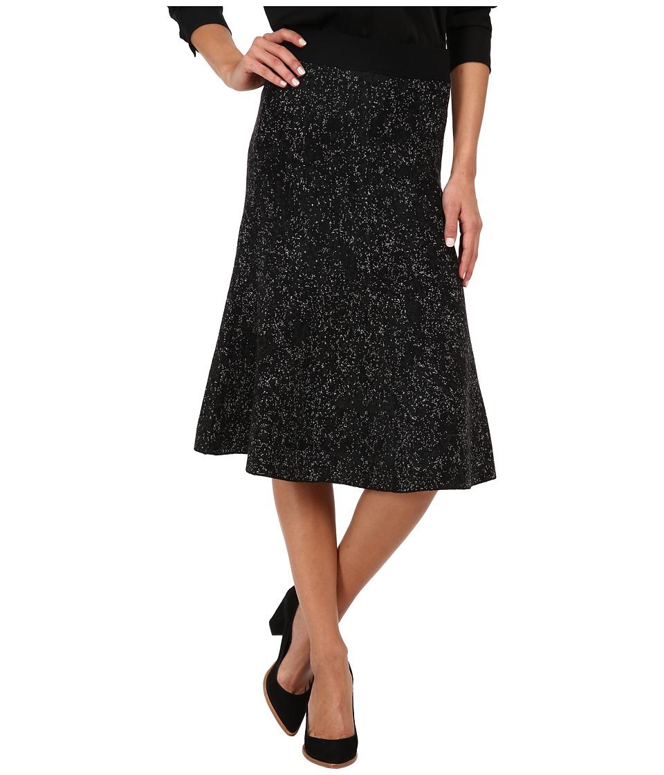 Theory - Marvita Skirt (Black/Dark Charcoal) Women