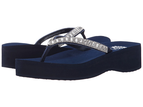 Yellow Box - Emilia (Navy) Women's Sandals