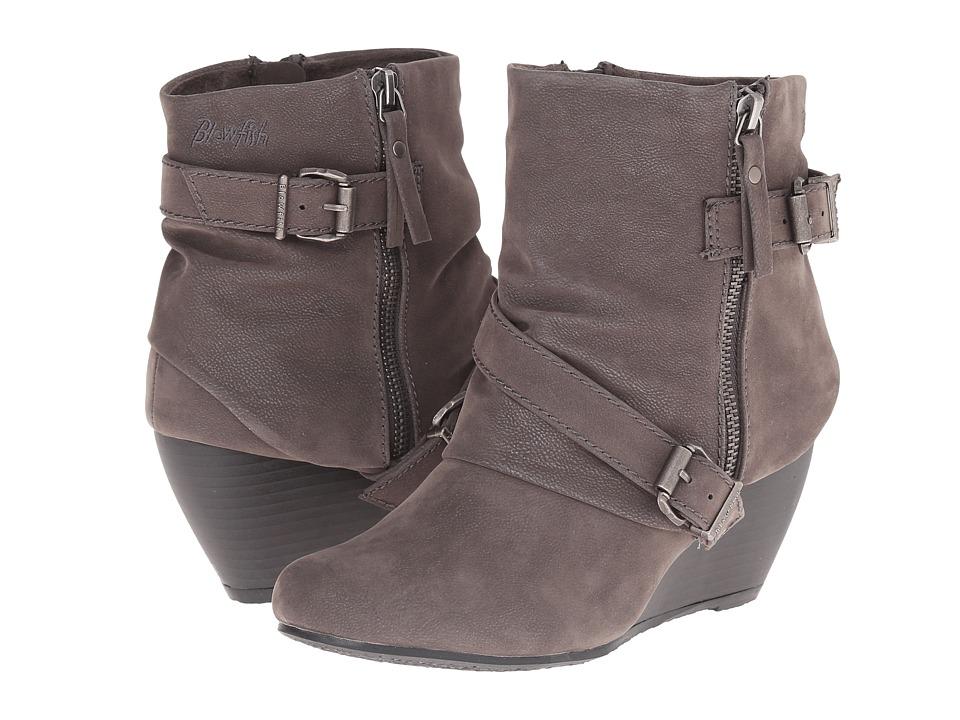 Blowfish - Belen (Grey Fawn PU) Women's Zip Boots