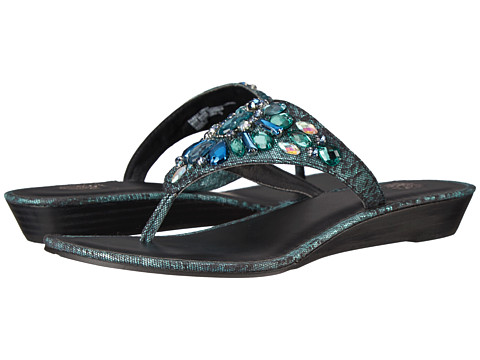 Yellow Box - Odette (Teal) Women's Sandals