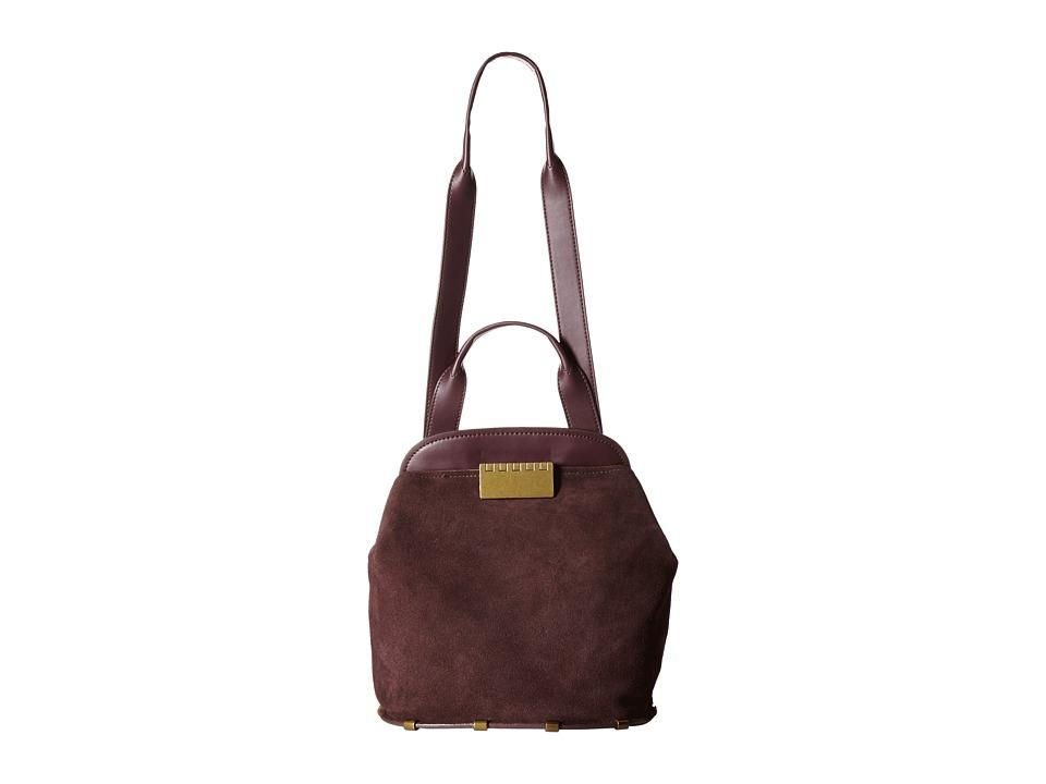 ZAC Zac Posen - Blythe Sling (Grape) Shoulder Handbags