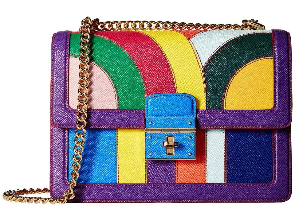 Dolce & Gabbana - Borsa A Tracolla Dauphine (Multicolor) Shoulder Handbags