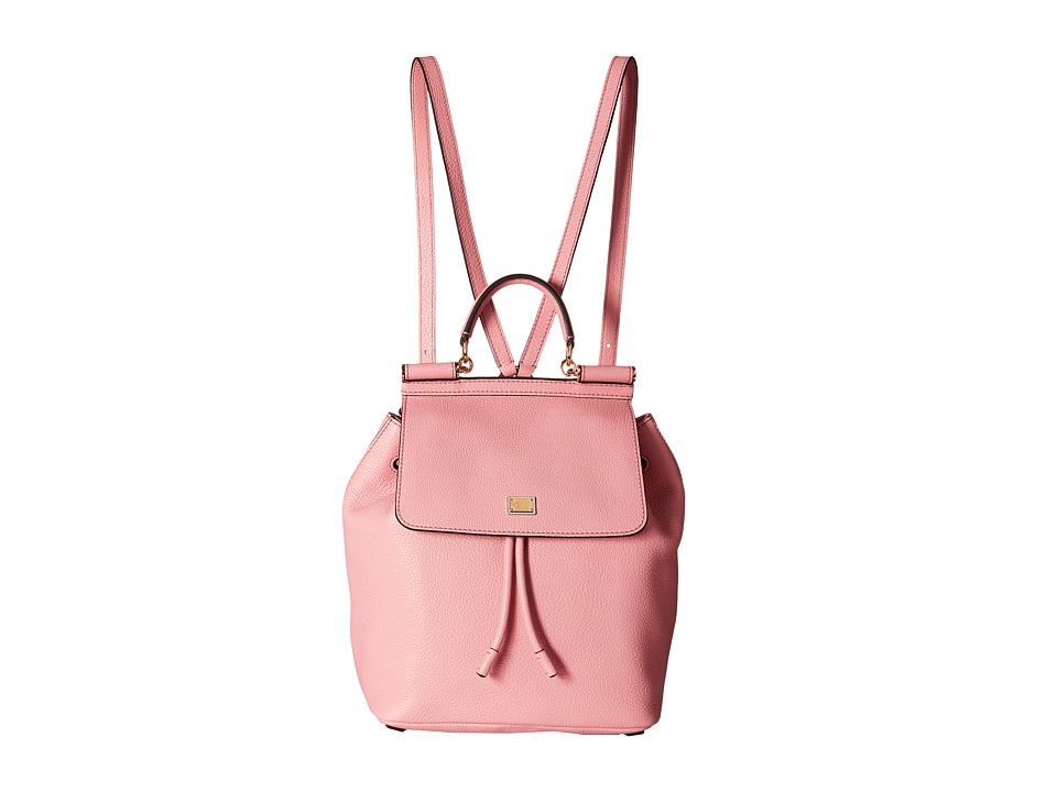 Dolce & Gabbana - Zaino Vit. Bottalato (Rosa Antico) Backpack Bags