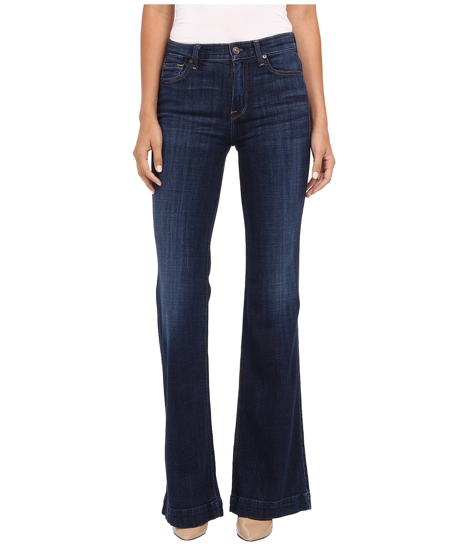 7 For All Mankind - Ginger in Royal Broken Twill (Royal Broken Twill) Women's Jeans