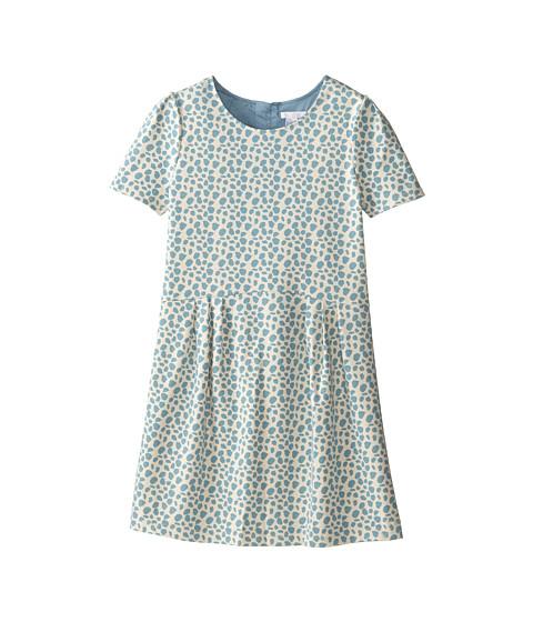 Chloe Kids - Milano Printed Fabric Dress (Big Kids) (Blue) Girl's Dress