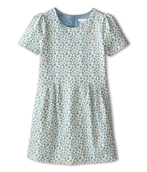 Chloe Kids - Milano Printed Fabric Dress (Little Kids/Big Kids) (Blue) Girl