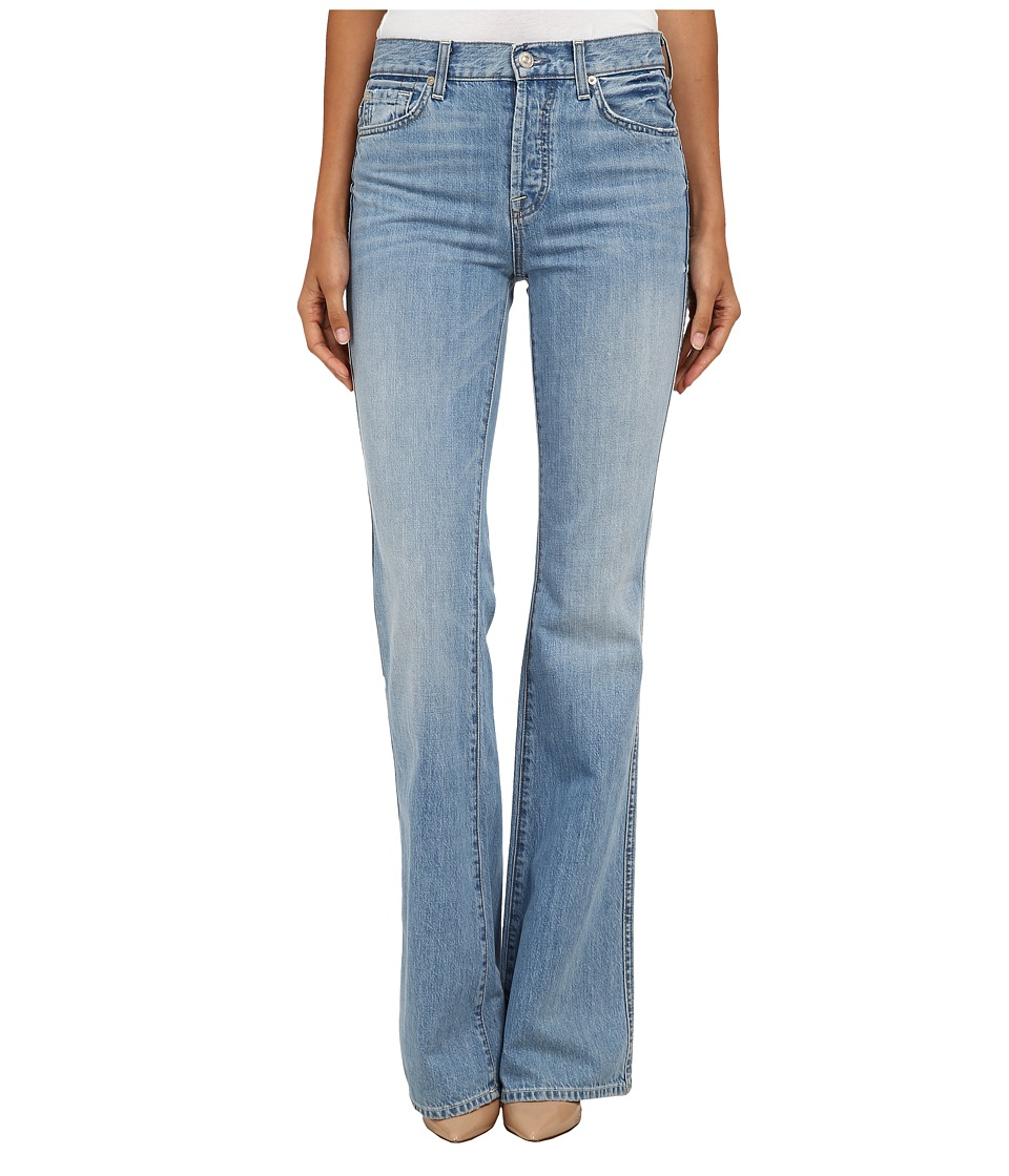 7 For All Mankind - High Waist Vintage Bootcut in Heritage Light (Heritage Light) Women's Jeans