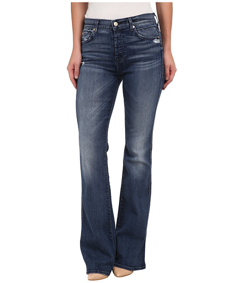 7 For All Mankind - High Waist Vintage Bootcut in Lake Blue (Lake Blue) Women's Jeans