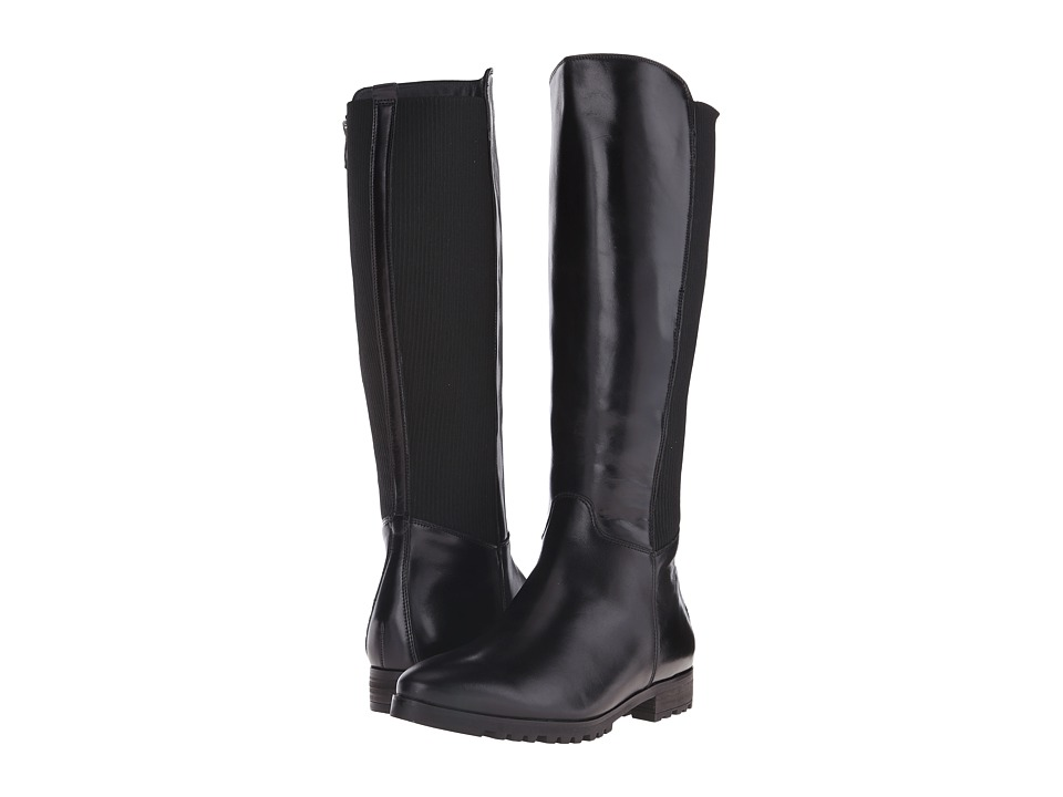 Paul Green - Ellery (Black Leather) Women's Zip Boots