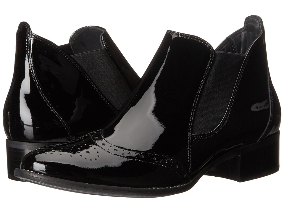 Paul Green - Ava (Black Patent) Women's Pull-on Boots