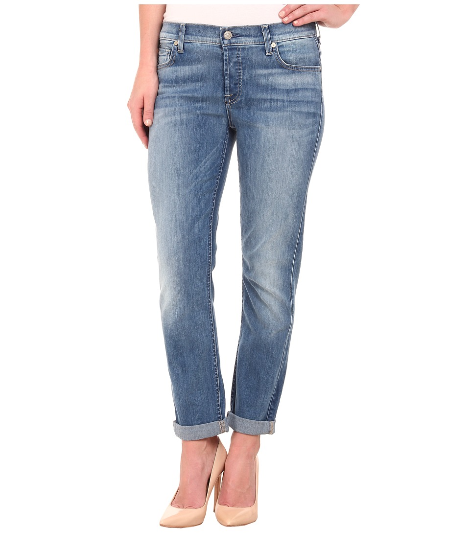 7 For All Mankind - Josefina in Icicle Blue (Icicle Blue) Women