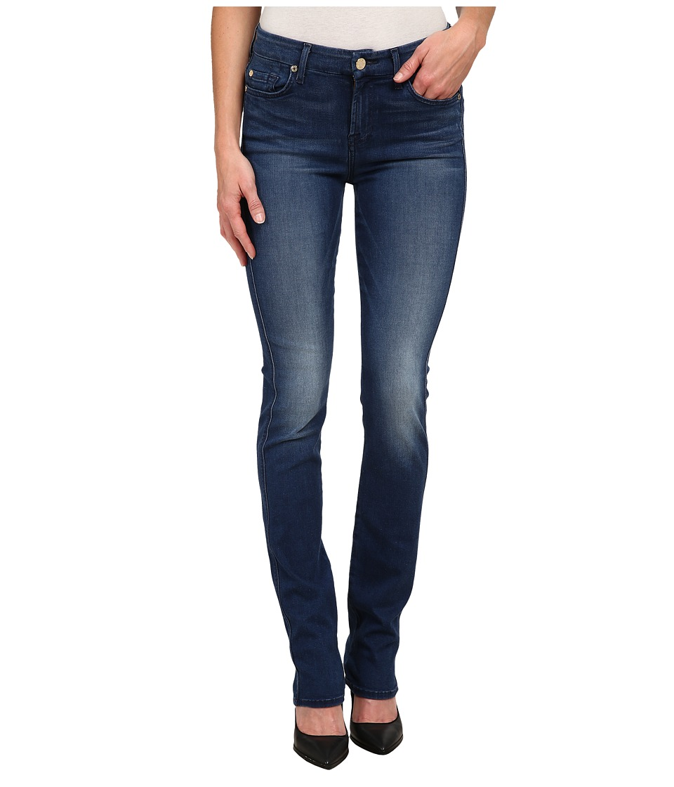 7 For All Mankind - Kimmie Straight Leg in Slim Illusion Luxe Medium Heritage (Slim Illusion Luxe Medium Heritage) Women's Jeans