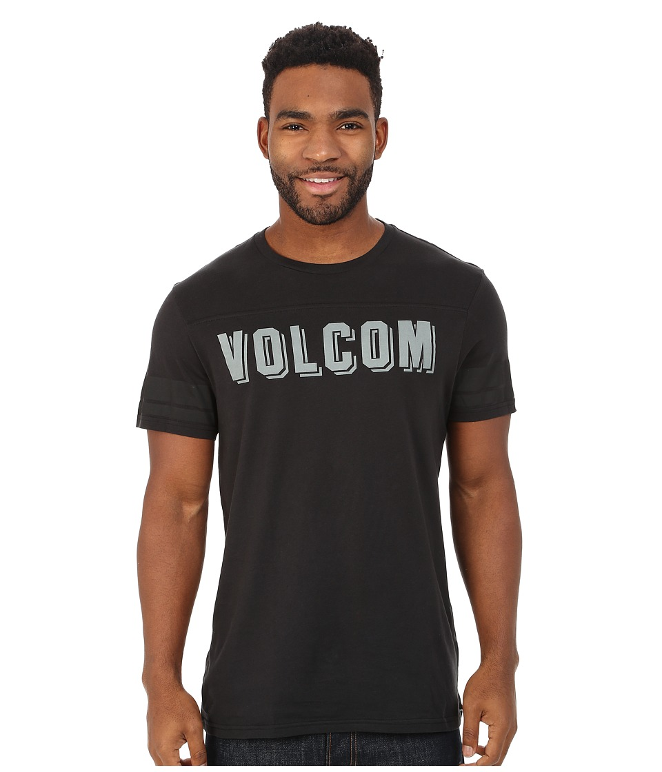 Volcom - No Strike Tee (Black) Men's T Shirt