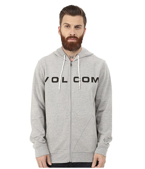 Volcom - Certified Zip (Heather Grey) Men