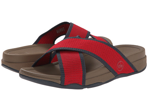 FitFlop - Surfer Slide (Classic Red) Men's Sandals