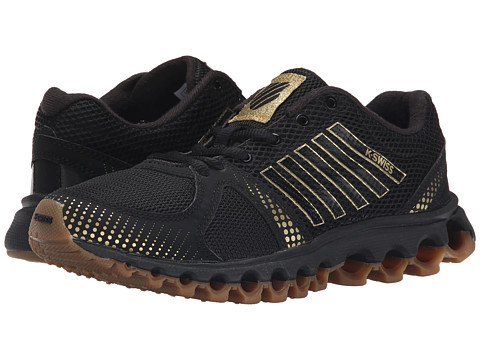 K-Swiss - X-160 CMF (Black/Gold/Dark Gum) Women