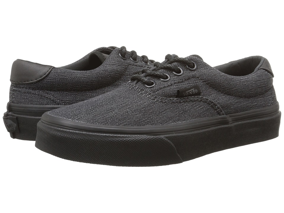 Vans Kids - Era 59 (Little Kid/Big Kid) ((Denim C&L) Black) Boys Shoes