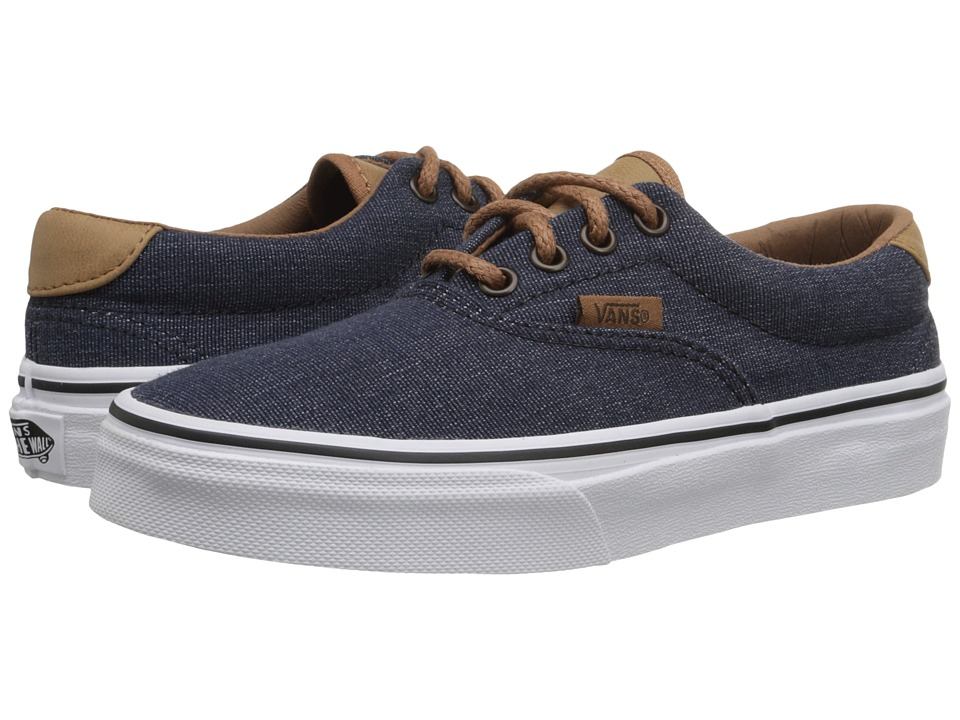 Vans Kids - Era 59 (Little Kid/Big Kid) ((Denim C&L) Navy) Boys Shoes