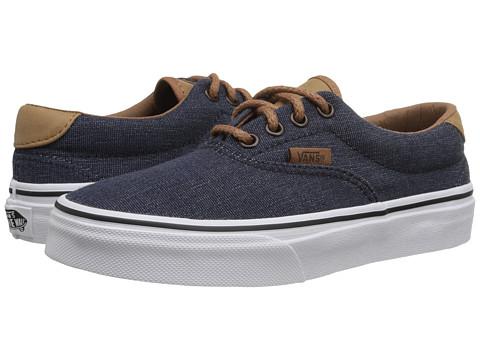 Vans Kids - Era 59 (Little Kid/Big Kid) ((Denim C&L) Navy) Boys Shoes