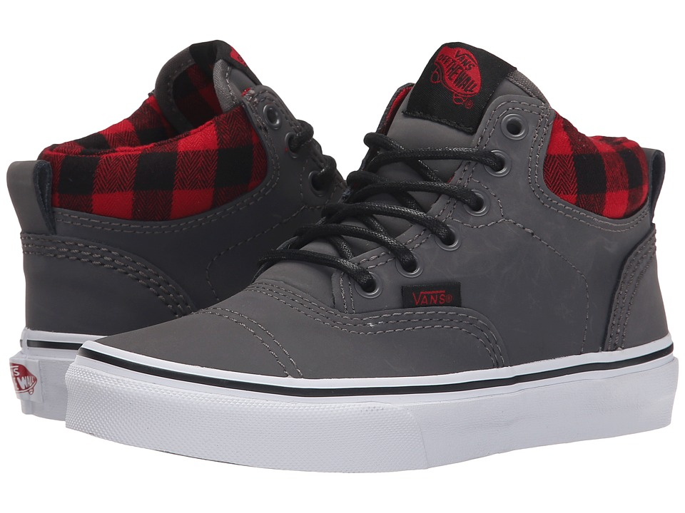Vans Kids - Era Hi MTE (Little Kid/Big Kid) ((MTE) Nubuck/Grey) Boys Shoes