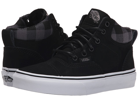 Vans Kids - Era Hi MTE (Little Kid/Big Kid) ((MTE) Nubuck/Black) Boys Shoes