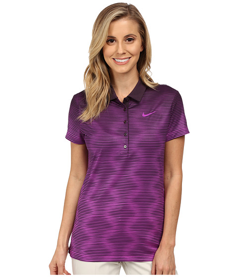 Nike Golf - Print Polo 2.0 (Noble Purple/Vivid Purple/Vivid Purple) Women