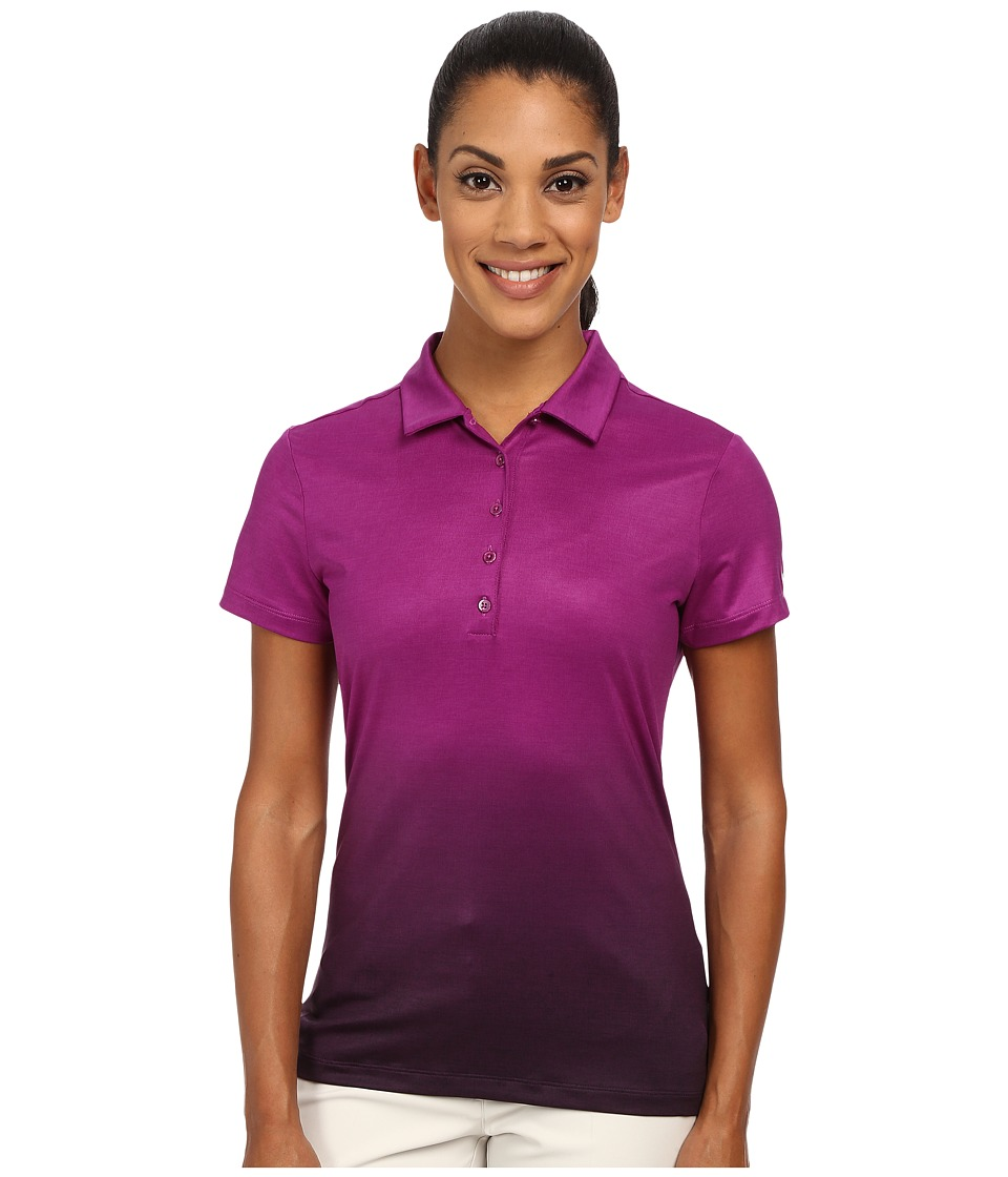 Nike Golf - Fade Polo 2.0 (Purple Dusk/Black/Black) Women's Short Sleeve Knit