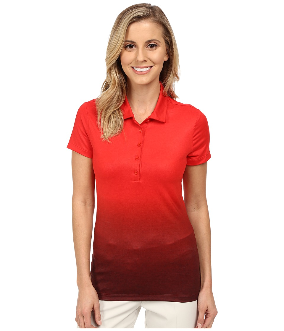 Nike Golf - Fade Polo 2.0 (Light Crimson/Anthracite/Black) Women's Short Sleeve Knit