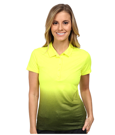 Nike Golf - Fade Polo 2.0 (Volt/Black/Black) Women