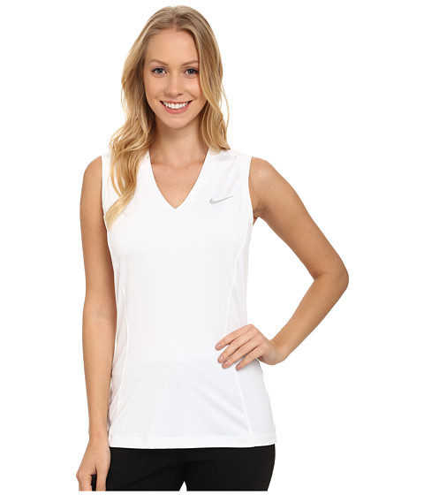 Nike Golf - Tour Sleeveless 2.0 (White/Wolf Grey) Women's Sleeveless