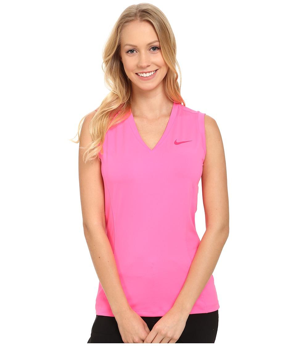 Nike Golf - Tour Sleeveless 2.0 (Pink Pow/Sport Fuchsia) Women's Sleeveless
