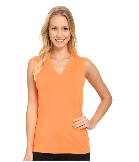 Nike Golf - Tour Sleeveless 2.0 (Bright Citrus/Electro Orange) Women