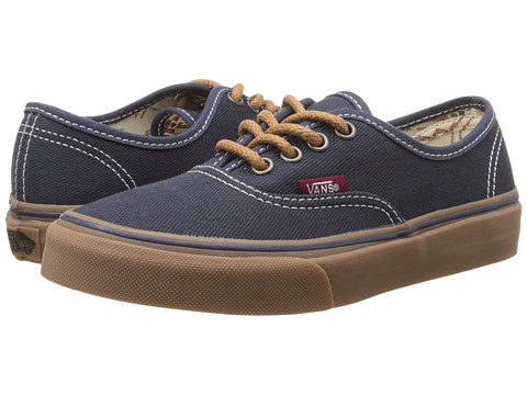 Vans Kids - Authentic (Little Kid/Big Kid) ((T&G) Ombre Blue/Gum) Boys Shoes