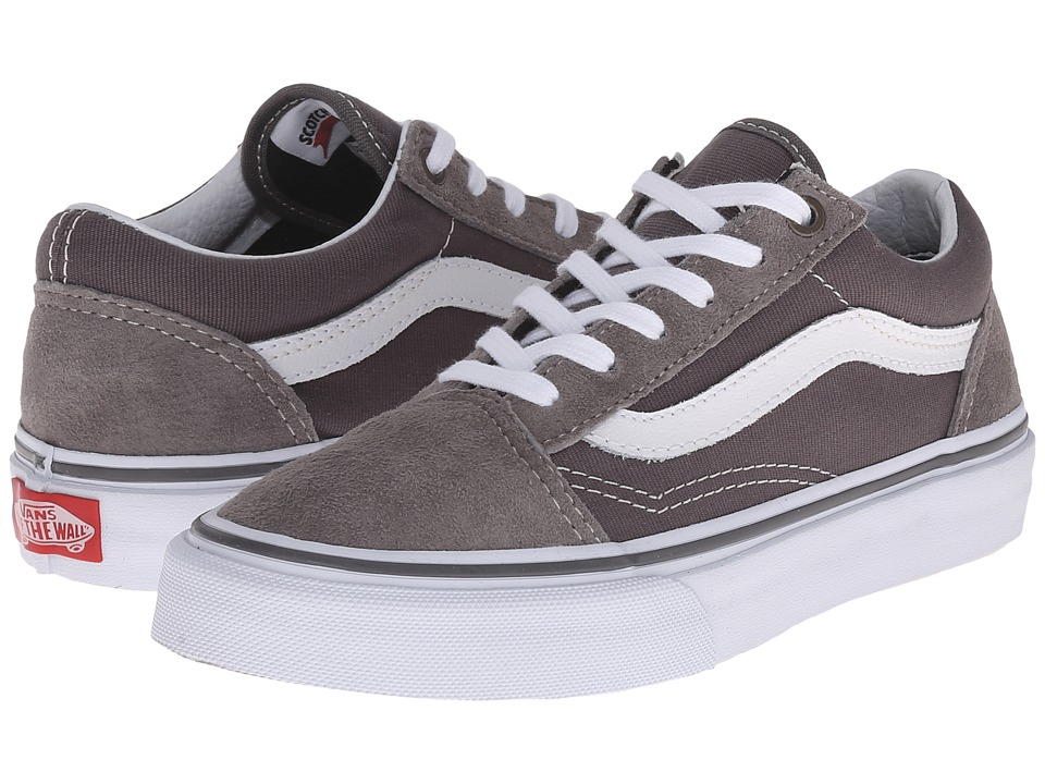 Vans Kids - Old Skool (Little Kid/Big Kid) ((Surplus) Frost Grey/Pewter) Boys Shoes