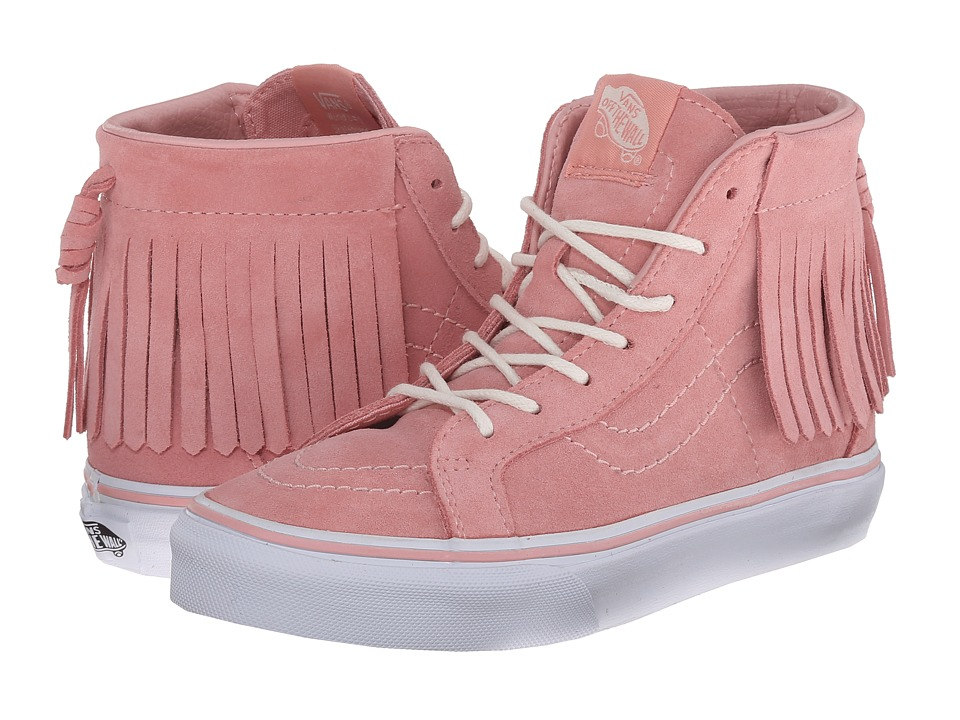 Vans Kids - SK8-Hi Moc ((Suede) Blossom) Girls Shoes