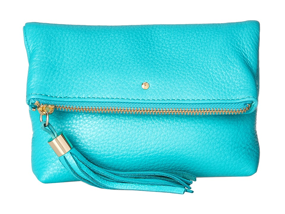 Jack Rogers - Gioia Mini (Caribbean Blue) Cross Body Handbags