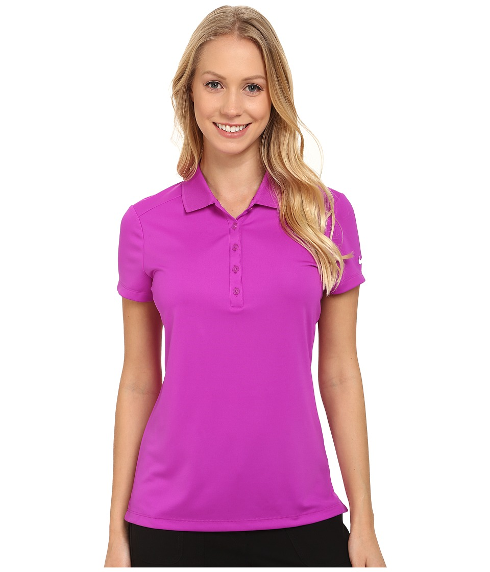 Nike Golf - Victory S/S Polo (Vivid Purple/White) Women's Short Sleeve Pullover