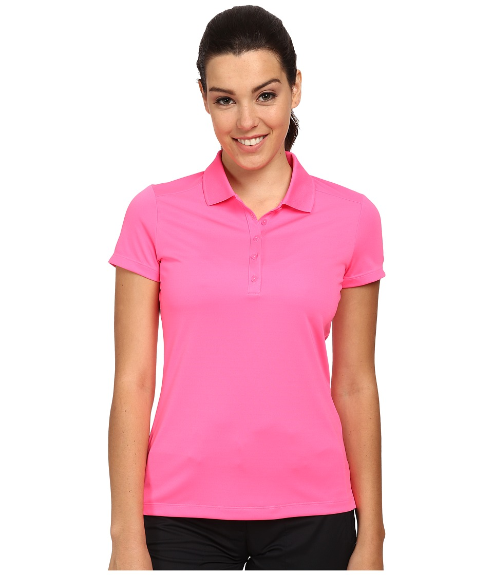Nike Golf - Victory S/S Polo (Pink Pow/White) Women's Short Sleeve Pullover