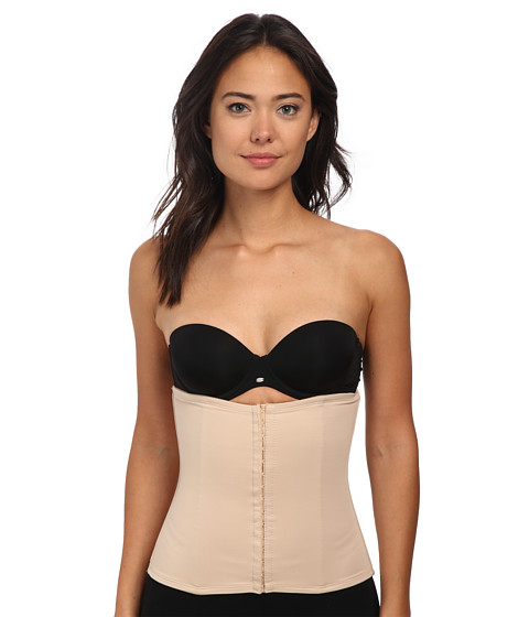 TC Fine Intimates - Extra Firm Hook and Eye Waist Cincher (Nude) Women's Underwear