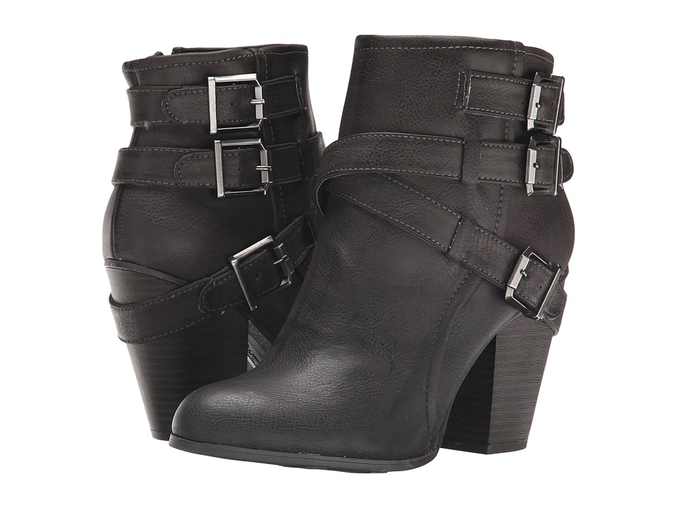 Fergalicious - Rizzo (Grey) Women's Zip Boots