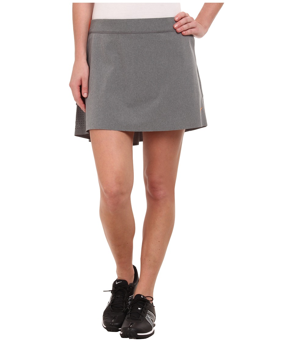 Nike Golf - Innovation Links Skort 2.0 (Dark Grey/Heather/Bright Citrus) Women