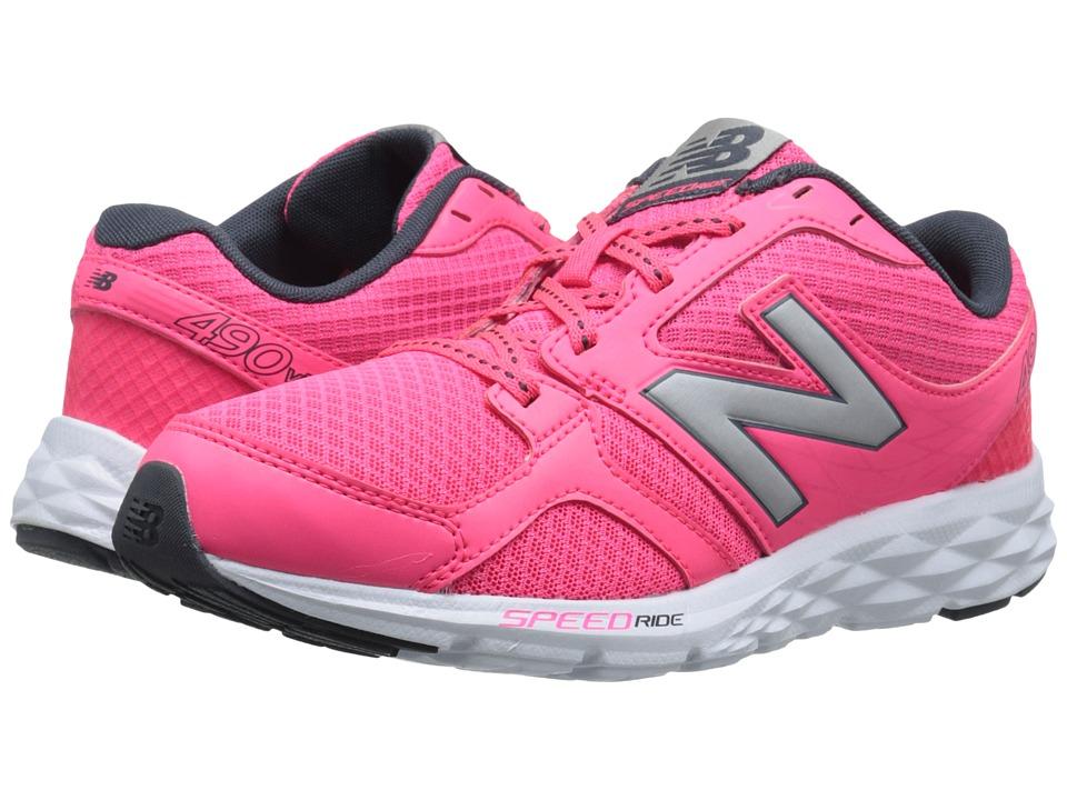 New Balance - W490V3 (Pink Zing) Women's Shoes