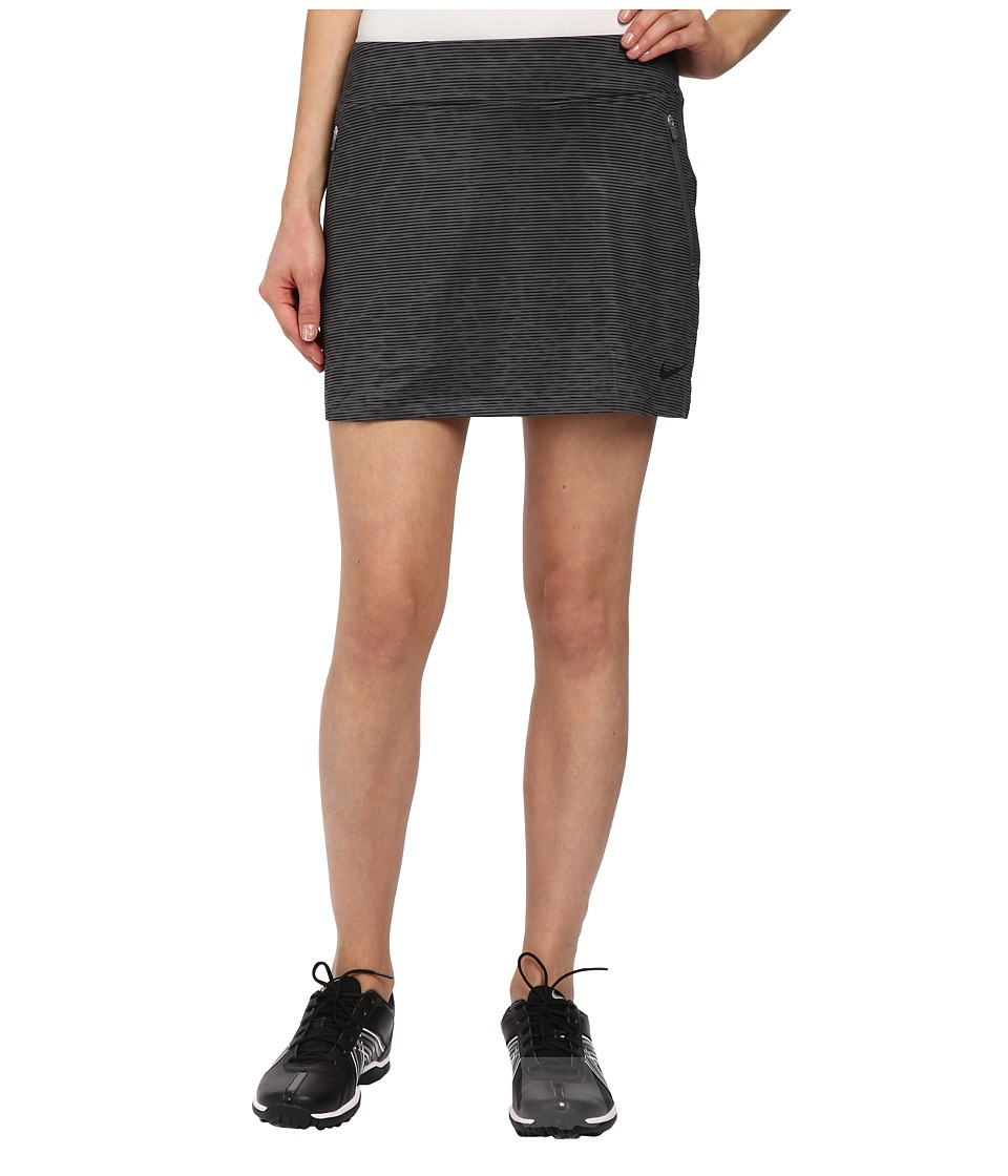 Nike Golf - Printed Flight Skort (Dark Grey/Black/Black) Women's Skort