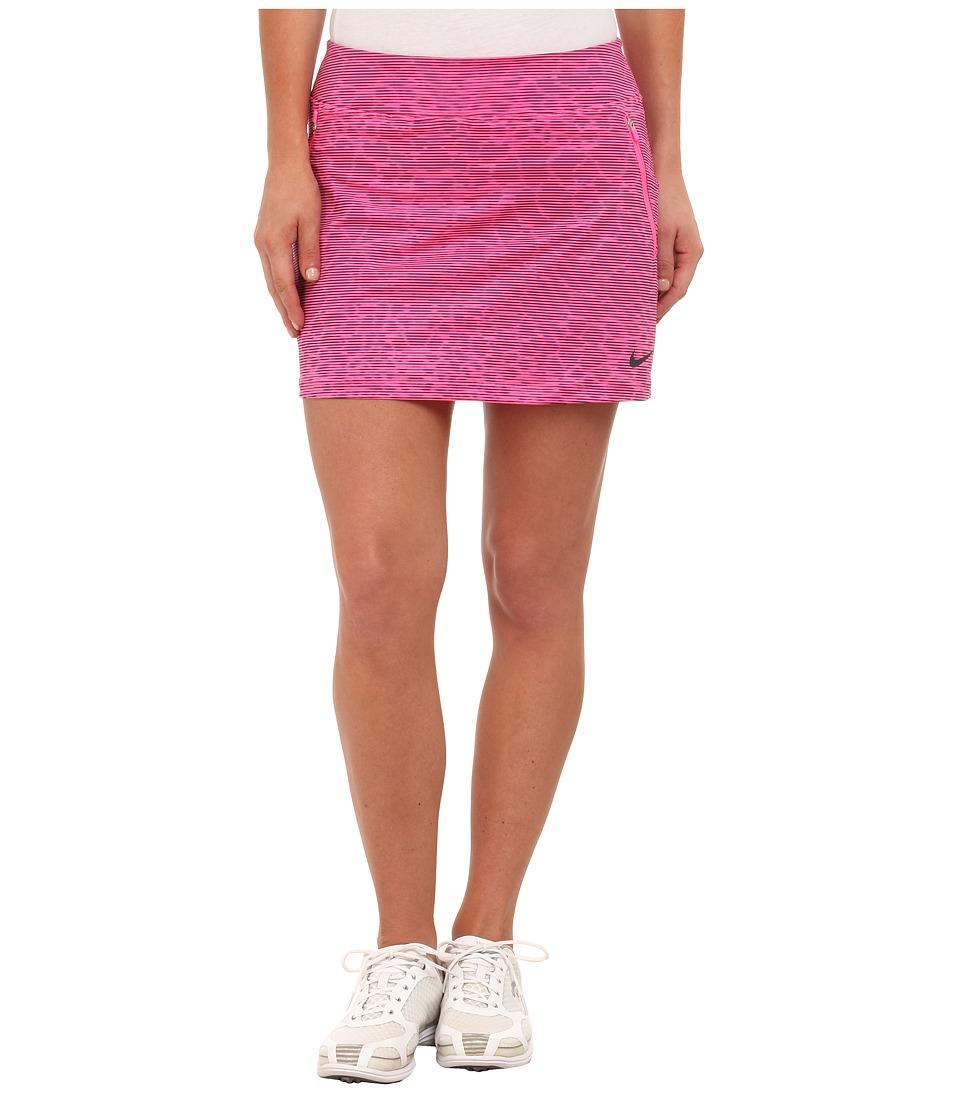 Nike Golf Printed Flight Skort (Pink Pow/Anthracite/Anthracite) Women