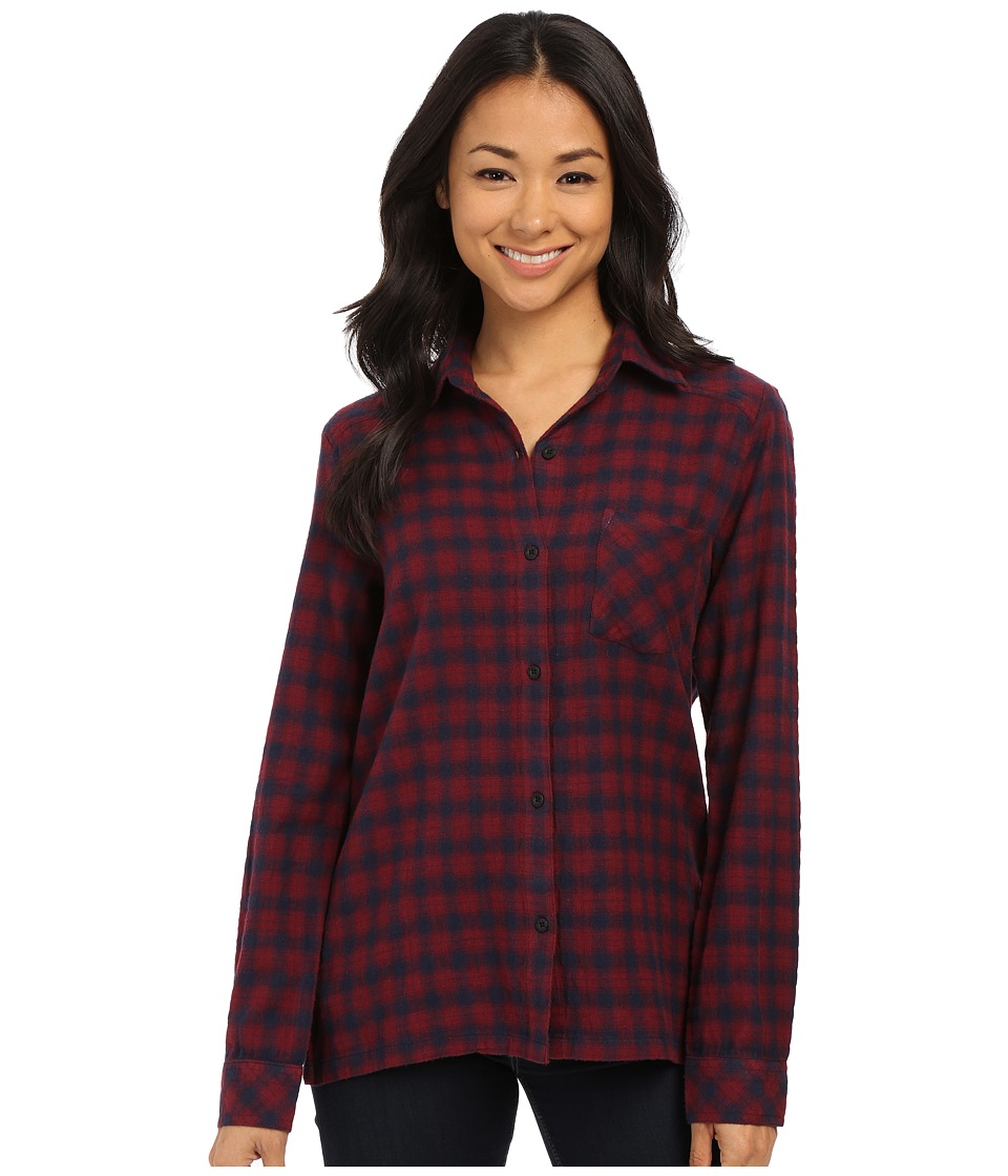 RVCA - Jig 2 Top (Burgundy) Women